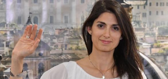 Virginia Raggi, sindaca di Roma- M5S-