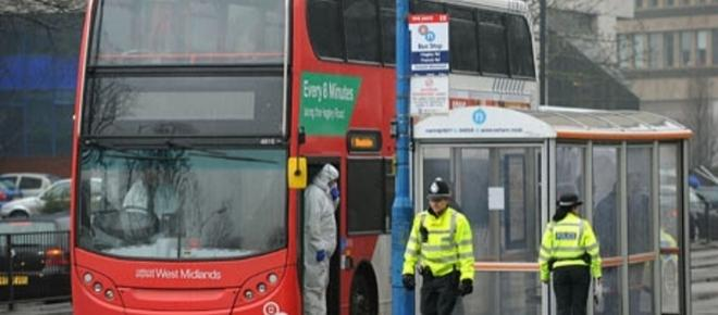 Birmingham man stabbed to death on a bus, police investigate