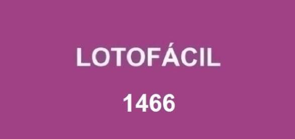 Anunciado o resultado da Lotofácil 1466
