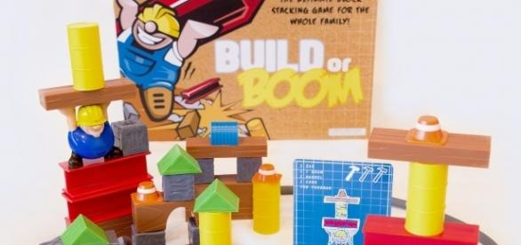 'Build or BOOM' is Tanner Yarro's latest invention. / Photo via Lisa Orman, KidStuff PR. Used with permission.