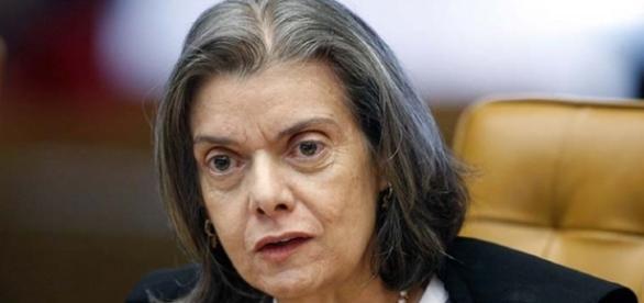 Carmen Lúcia, presidente do STF