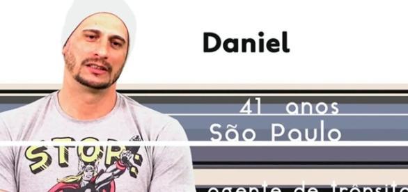 Daniel é um dos participantes do Big Brother Brasil 17