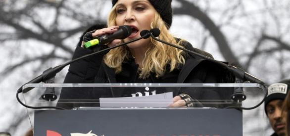 Madonna pode ser presa após discurso
