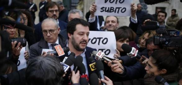 Matteo Salvini propone di votare il 23 aprile