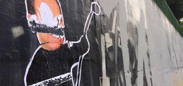 Mural do artista Kobra sofre vandalismo