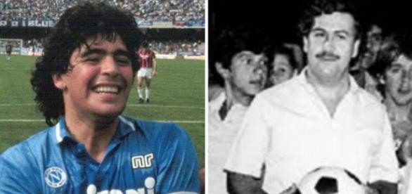 O dia em que o jogador Maradona e Pablo se encontraram