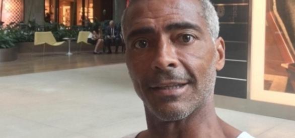 Romário fica irreconhecível após cirurgia bariátrica