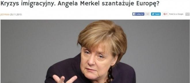 Człowiek, który chciał wziąć Polskę pod nadzór ma zastąpić Merkel jako kanclerz