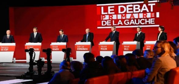Débat primaire à gauche - CC BY