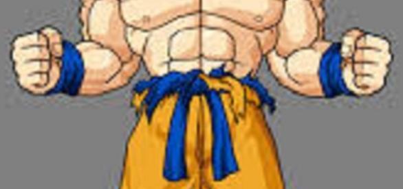 Goku el super saiyan legendario