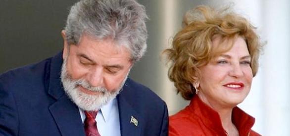 Lula e Marisa Letícia foram alvos de protesto