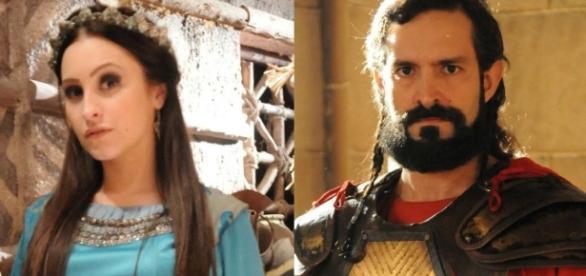 Melina foi perseguida por Yussuf, mas pode voltar à novela, para alegria dos telespectadores
