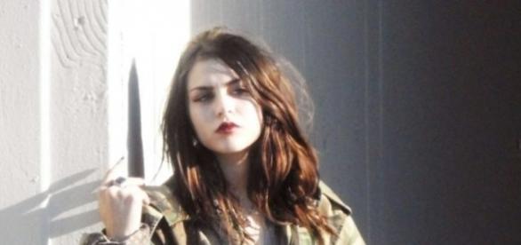 Frances Bean Cobain lors d'un shooting photo pour Marc Jacobs à Los Angeles (Marc Jacobs Shoot Campaignin in LA)