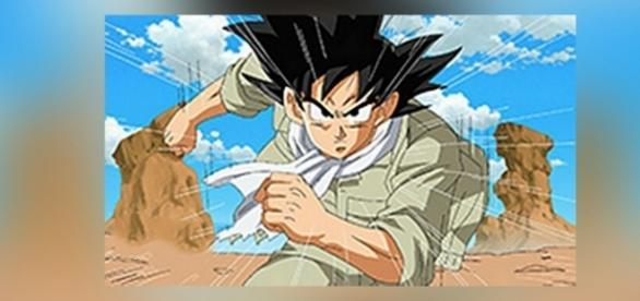 Imagen exclusiva de Goku en el capítulo 77.