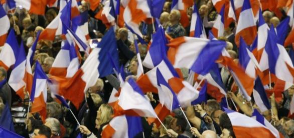 Immagine di una manifestazione della destra francese