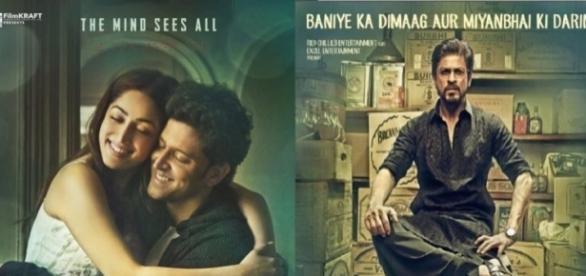 'Kaabil' vs 'Raees' (Image credits: Twitter.com/newbulletin_)