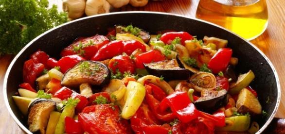 Misto di verdure alla contadina saporite e leggere