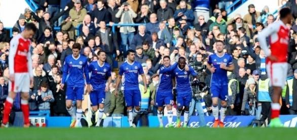 O Chelsea fez uma grande partida no Stamford Bridge.