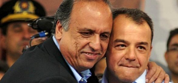 Pezão fica triste ao saber de situação crítica de Cabral na prisão