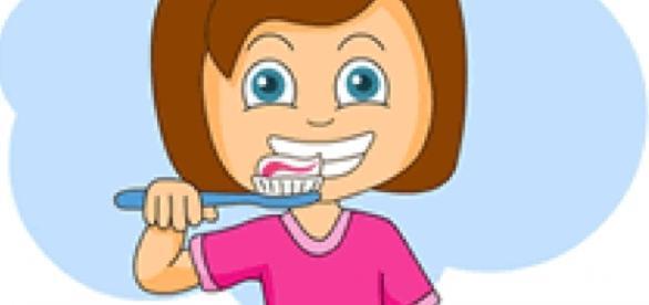 Seleção do creme dental infantil