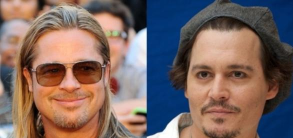 Brad Pitt e Johnny Depp estão na lista