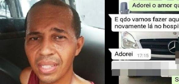 Homem chora depois de saber que sua noiva não resistiu ao ataque