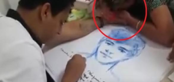 Médium Livio Barbosa é flagrado em retrato de filho
