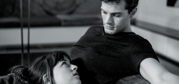 Os atores Dakota Johnson e Jamie Dornan