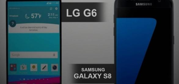 Samsung Galaxy S8 contro LG G6
