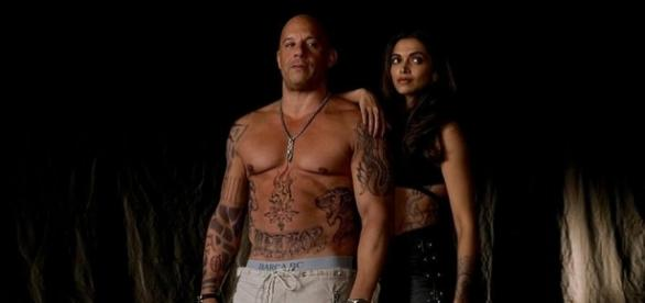 Vin Diesel Goes Shirtless in Latest 'XXX 3' Sourced via Blasting News Library