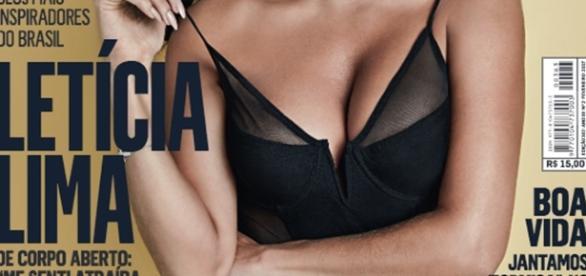 Capa do mês de fevereiro da revista VIP com Letícia Lima (Foto: Divulgação)