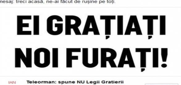 Captură Facebook, preluare de pe sursa b1tv.ro