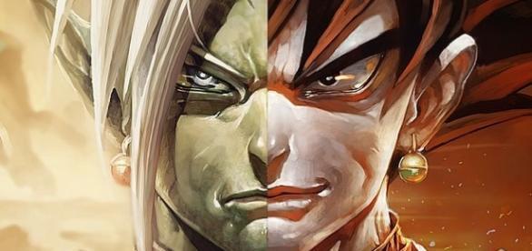 El despiadado Black Goku y Zamasu