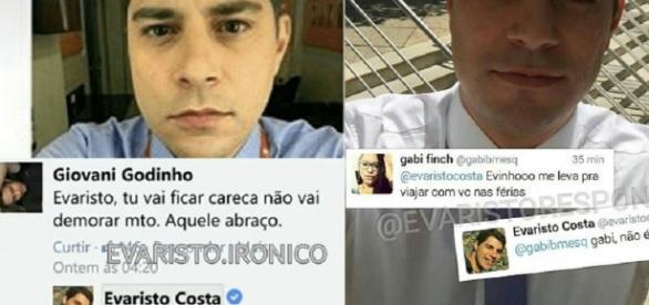 """Evaristo responde a alguns fãs com ironia e humor e ganha apelido de """"Evaristo mito"""""""