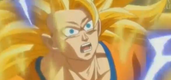 Goku en el episodio 76 de la serie