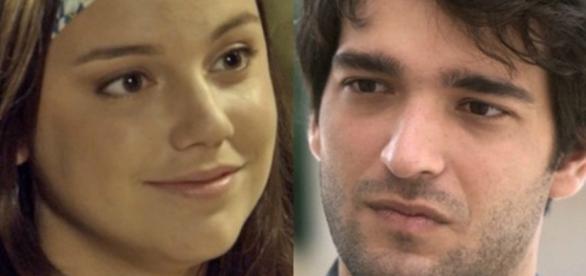 Marina e Tiago em 'A Lei do Amor' (Divulgação/Globo)