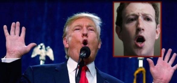 Mark critica Trump e Facebook sai do ar (Foto: Reprodução)