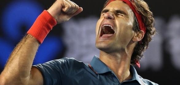 O dia é do suíço Roger Federer