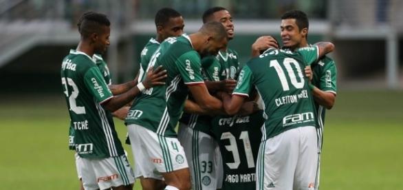 Palmeiras empatou com a Ponte Preta