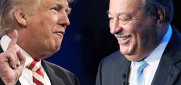 Se reúnen Trump y Slim en Florida   Nortedigital - nortedigital.mx
