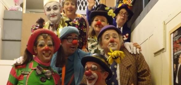 Clown's at last year's gathering. (Photo: Douglas McPherson)