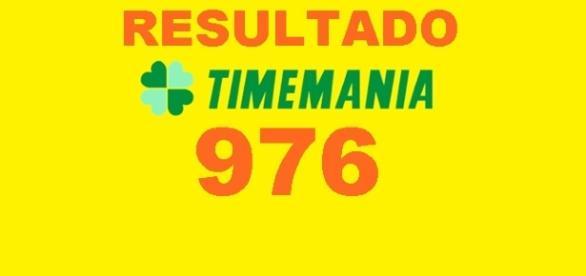 Resultado do jogo Timemania 976