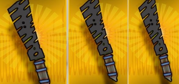 sword of the tall created by author in p.s.