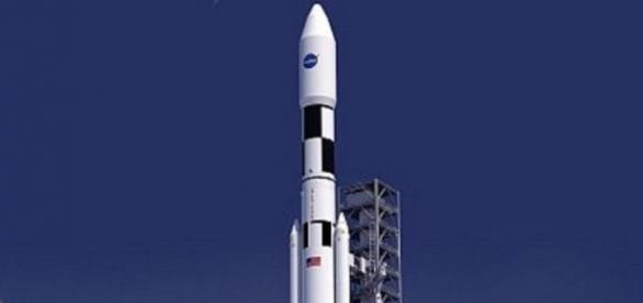 The Space Launch System takes off (NASA)