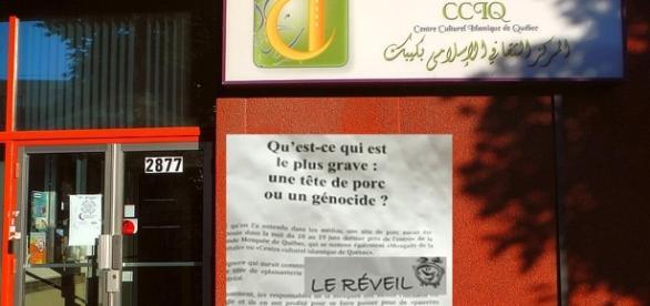 Deux hommes, deux Québécois, se sont livrés à une tuerie à la Grande Mosquée de Québec : six morts