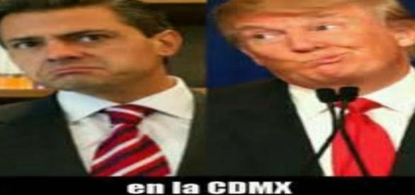 EPN y Trump causantes de verguenzas