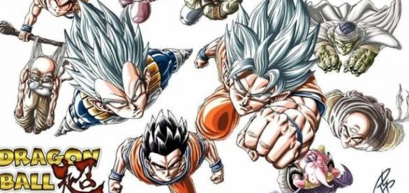 Fan art de los 10 guerreros que participaran por el Universo 7