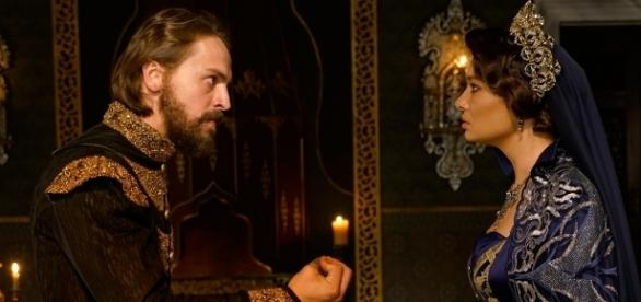 Murad IV i Sułtanka Kosem (źródło: TIMS)
