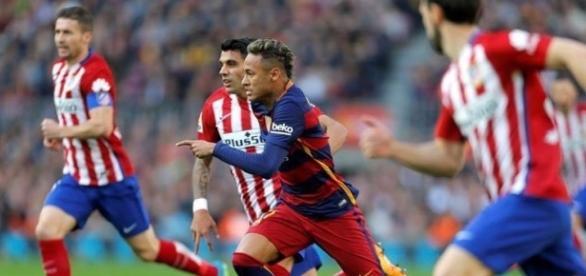 Barcelona e Atlético de Madrid jogam na noite desta quarta-feira, 1º