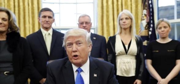 Presidente Donald Trump e suas controversas decisões